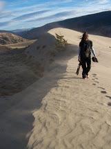 Wenona at Chilcotin Sand Dunes